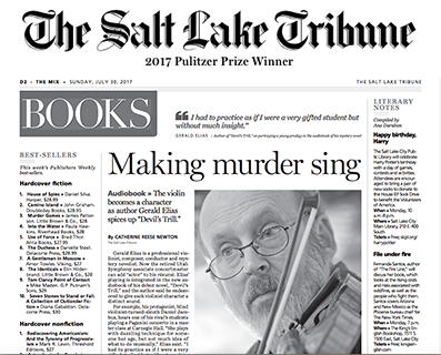 The Salt Lake Tribune interview