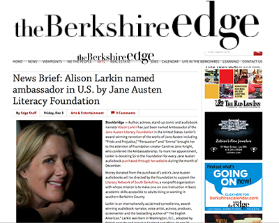The Berkshire Edge feature